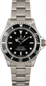 Used Rolex Submariner 14060 Serial Engraved No Date