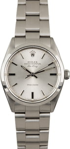 Used Rolex Air-King 5500 Steel Oyster Bracelet