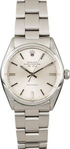 PreOwned Rolex Air-King 5500 Steel Oyster Band