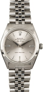 PreOwned Rolex Air-King 5500 Stainless Steel