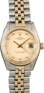 Used Rolex Date 1505 Champagne Dial
