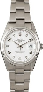 PreOwned Rolex Date 15200 White Dial