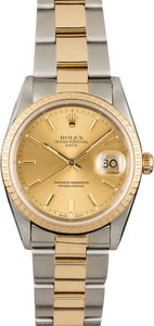 PreOwned Rolex Oyster Perpetual Date 15223