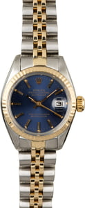 Rolex Datejust 6917 Blue Dial