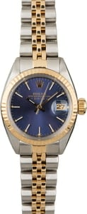 PreOwned Rolex Date 6917 Blue Dial
