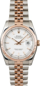 Rolex Datejust 116231 Two-Tone Everose Jubilee