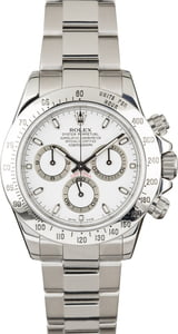 PreOwned Rolex Daytona 116520 Steel Cosmograph