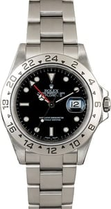 PreOwned Rolex Explorer 16570 Black Dial with Steel Oyster