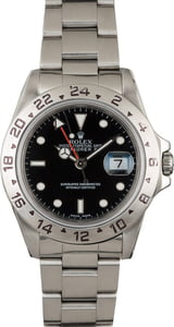 Used Rolex Explorer 16570 Black Dial