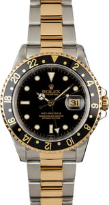 PreOwned Rolex GMT-Master II Ref 16713 Two Tone Oyster