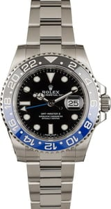 Used Rolex 'Batman' 116710B GMT-Master