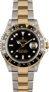 PreOwned Rolex GMT-Master II Ref 16713 Two Tone