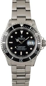 Rolex 16610 Submariner Stainless Steel Men's Watch