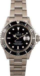 Rolex Submariner 16610 40MM No Holes Case