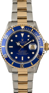 PreOwned Rolex Submariner Ref 16613