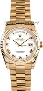 Rolex Men's Pre-Owned President Gold Day-Date 118238 Mens