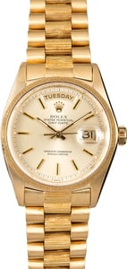 Presidential Bark Finish Rolex Day-Date 18078