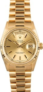 Presidential Rolex Champagne Dial