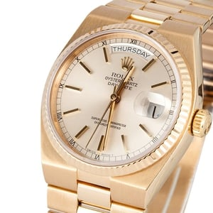 Rolex Gold Quartz Day Date 19018