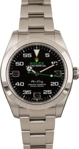 Used Rolex Air-King 116900 Steel Oyster