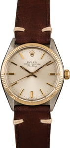 Pre-Owned Rolex Air-King 5501 Silver Dial Watch
