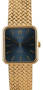 Pre-Owned Rolex Cellini 4332 Blue Dial