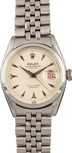 Pre-Owned Rolex Date 6534 Arrowhead Markers