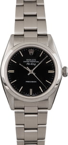 Pre Owned Rolex Oyster Perpetual Date 1500 Black Dial