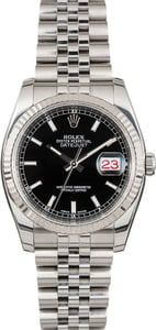 Pre Owned Rolex Datejust 116234 Black