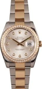 Used Rolex Datejust 116243 Diamond Bezel & Dial
