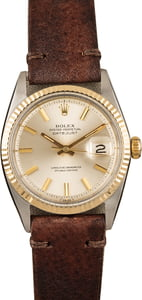 Pre-Owned Rolex Datejust 1601 Silver Dial Model