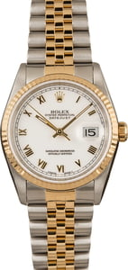Pre-Owned Rolex Datejust 16233 Roman Dial Watch