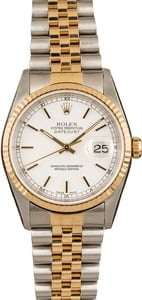 Rolex Pre Owned Men's Datejust 16233