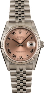 Pre-Owned Rolex Datejust 16234 Pink Dial