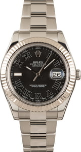 Rolex Datejust II 41MM Black Dial 116334
