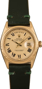 Pre-Owned Rolex Day-Date 1803 Roman Markers
