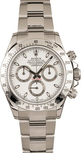 Pre-Owned Rolex Daytona 116520 White Dial Watch