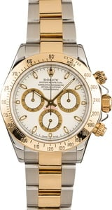 Pre-Owned Rolex White Daytona 116523