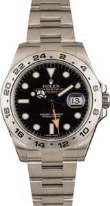 Rolex Stainless Steel Explorer II Black 216570