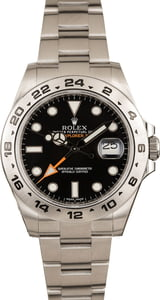 Rolex 42MM Explorer II Black 216570