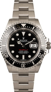 Pre-Owned Rolex 126600 Red Lettering Sea-Dweller Watch