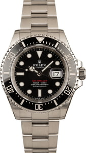 Rolex 126600 Black Dial with Red Lettering