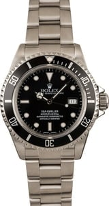 Pre-Owned Rolex 40MM Sea-Dweller 16600
