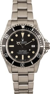 Pre Owned Rolex Sea-Dweller 16660 Black Dial