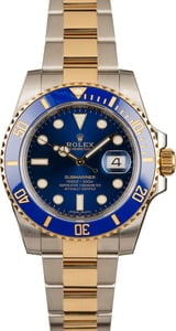 Rolex Two Tone Ceramic Submariner