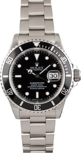 Pre Owned Submariner Rolex Stainless 16610