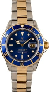 Pre-Owned Rolex Submariner 16613 Two Tone Oyster Watch