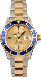 16613 Rolex Two-Tone Submariner