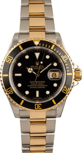 Pre-Owned 40MM Rolex Submariner 16613