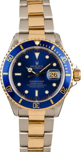 Pre-Owned Rolex 16613 Submariner Timing Bezel